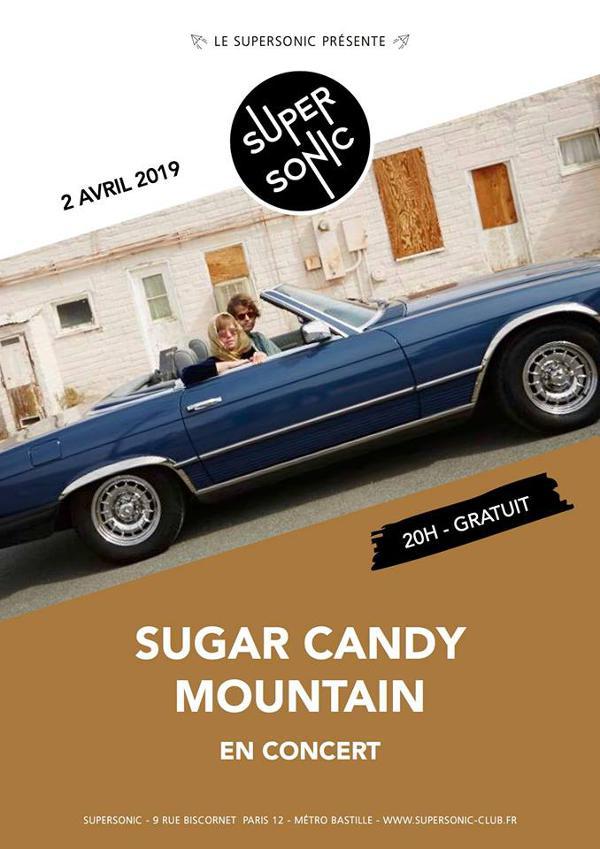 Sugar Candy Mountain en concert au Supersonic (Free entry)