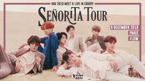 "VAV 2018 Meet & Live ""Senorita Tour"" in Paris"