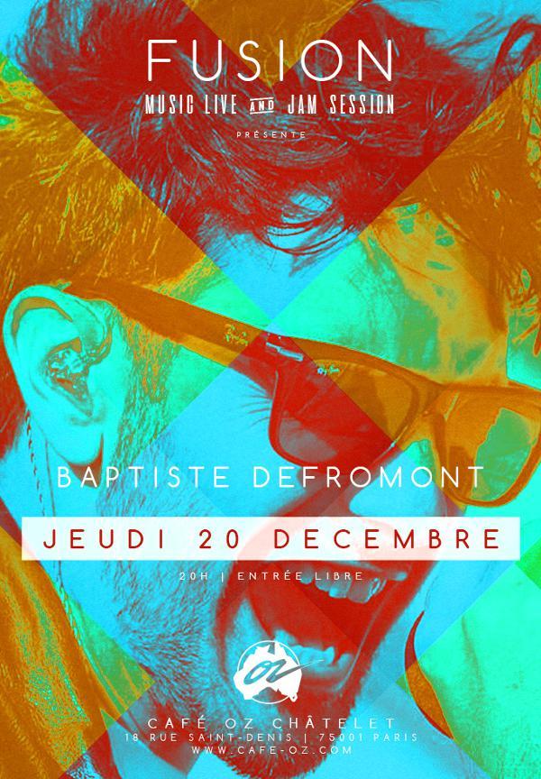 Fusion // Baptiste Defromont