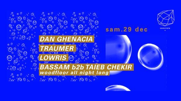 Concrete: Dan Ghenacia, Traumer, Lowris
