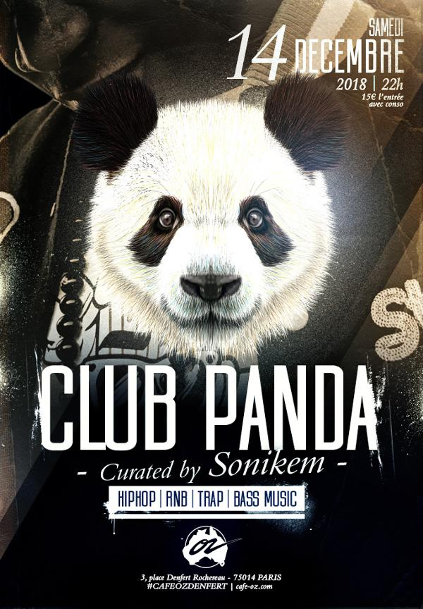 Club Panda #DEC curated by Sonikem