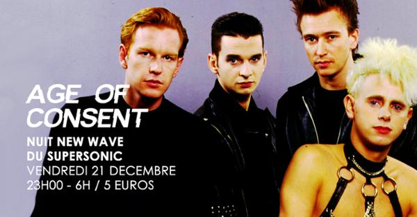 Age of Consent / Nuit New Wave du Supersonic
