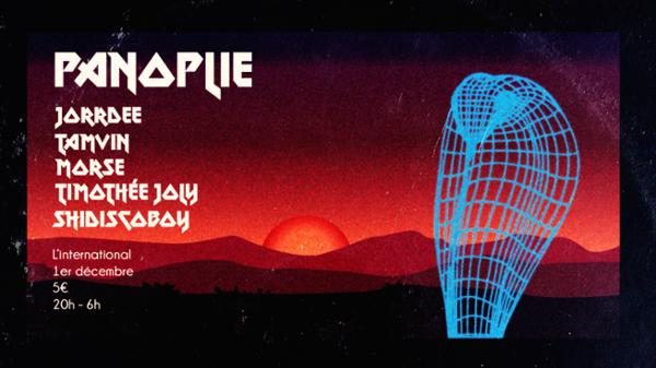 Panoplie // Jorrdee • Tamvin • Morse • Timothée Joly