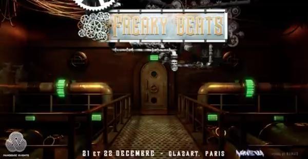 Freaky Beats #12 w/ Billx Rooler Vortek's GPF Ziqooh & more !