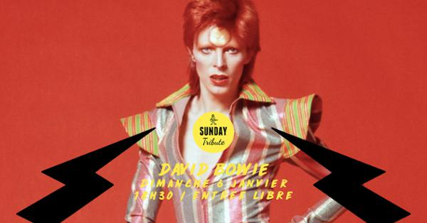 Sunday Tribute – David Bowie // Supersonic – Free