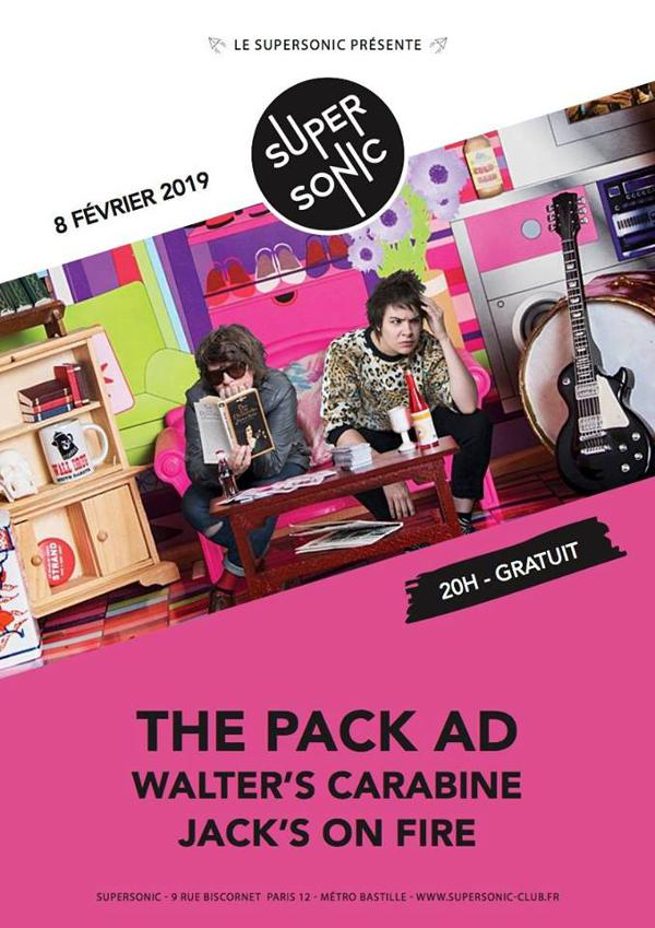 The Pack AD • Walter's Carabine • Jack's On Fire / Supersonic