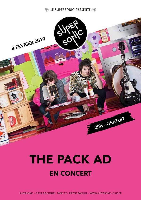 The Pack AD en concert au Supersonic - Free entrance