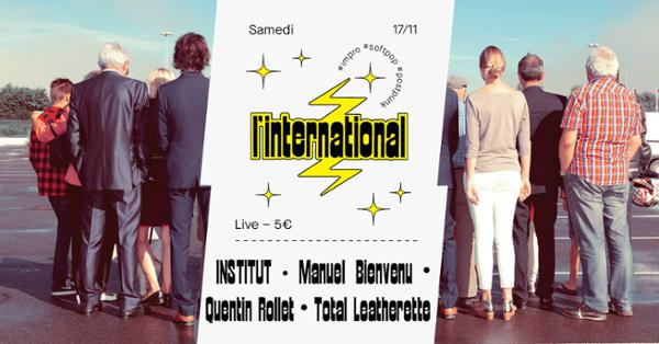 Institut  Quentin Rollet  Manuel Bienvenu  Total Leatherette