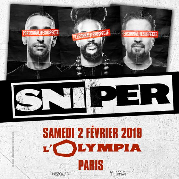 Sniper • L'Olympia, Paris • 2 février 2018