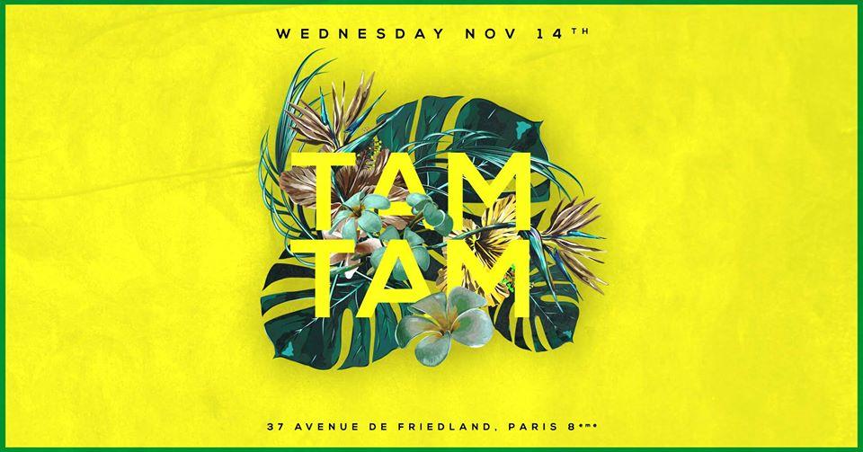 Mercredi 14 Novembre - Tam Tam - Boum Boum