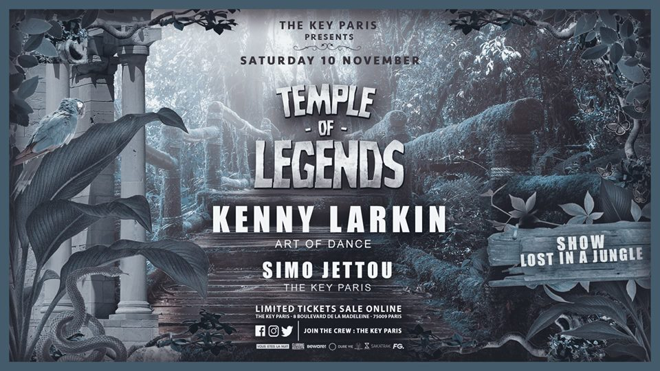 Temple of Legends with Kenny Larkin !