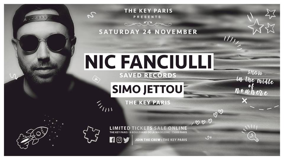 The Key Paris presents Nic Fanciulli