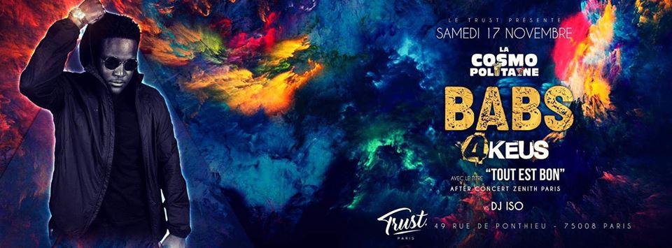 La Cosmo Politaine At Trust - Dj Babs Feat 4Keus
