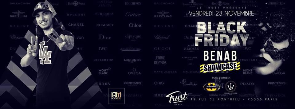 BENAB ShowCase At Trust - Vendredi 23 Novembre