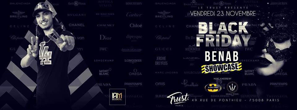BENAB ShowCase At Trust - Vendredi 23 Novembre