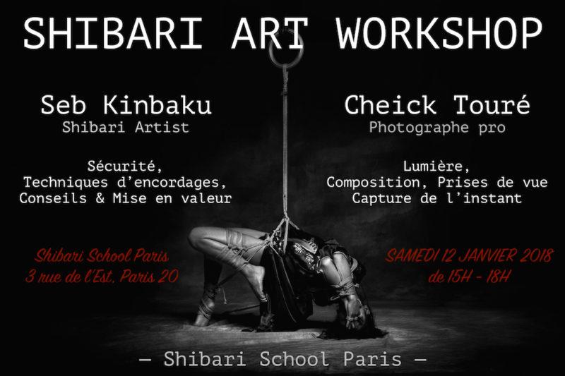 SHIBARI ART WORKSHOP PARIS 2019