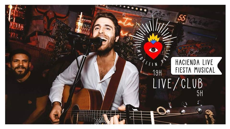 Lundi • Mardi • Fiesta Live & Open Mic