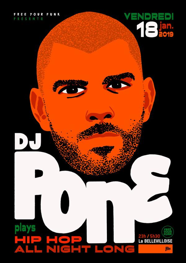 FREE YOUR FUNK : DJ PONE ALL NIGHT LONG