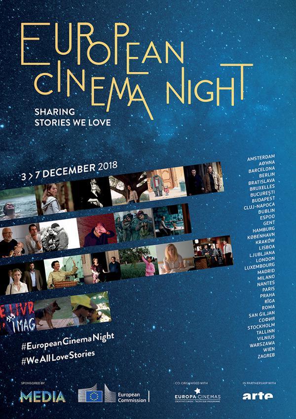 """Projection gratuite du film """"Heureux comme Lazzaro"""" - European Cinema Night"""