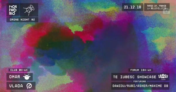 NOSTROMO DRONE NIGHT #2 w/ VLADA, OMAR & TE IUBESC