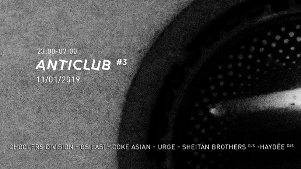 Anticlub #3