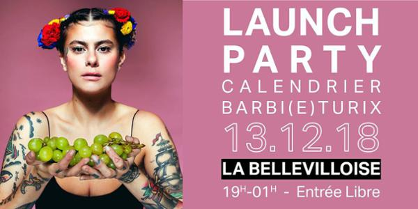 LAUNCH PARTY DU CALENDRIER BARBI(E)TURIX