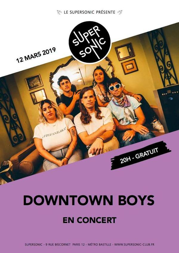 Downtown Boys (Sub Pop Records) en concert au Supersonic