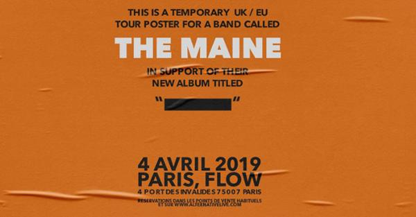 The Maine I 04.04.2019 I Paris