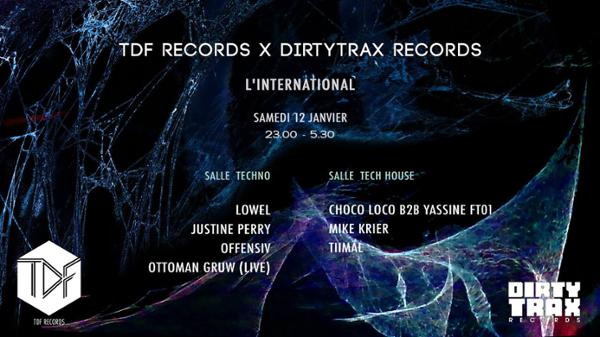 TDF Records x Dirtytrax Records