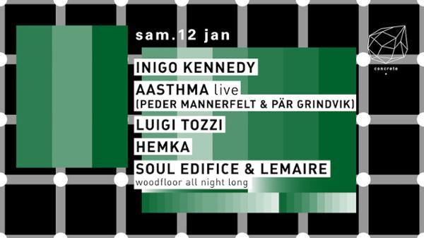 Concrete: Inigo Kennedy, Aasthma, Luigi Tozzi, Hemka