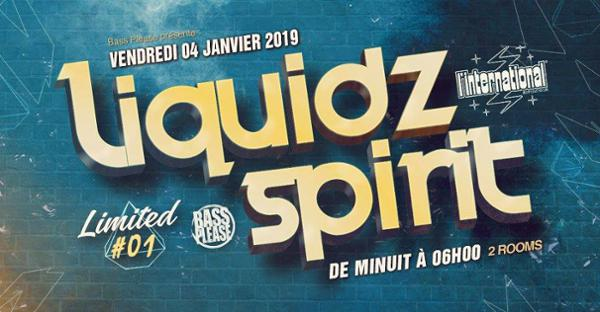 Liquidz Spirit Ltd. #01  w/ SATL, Figures & more !