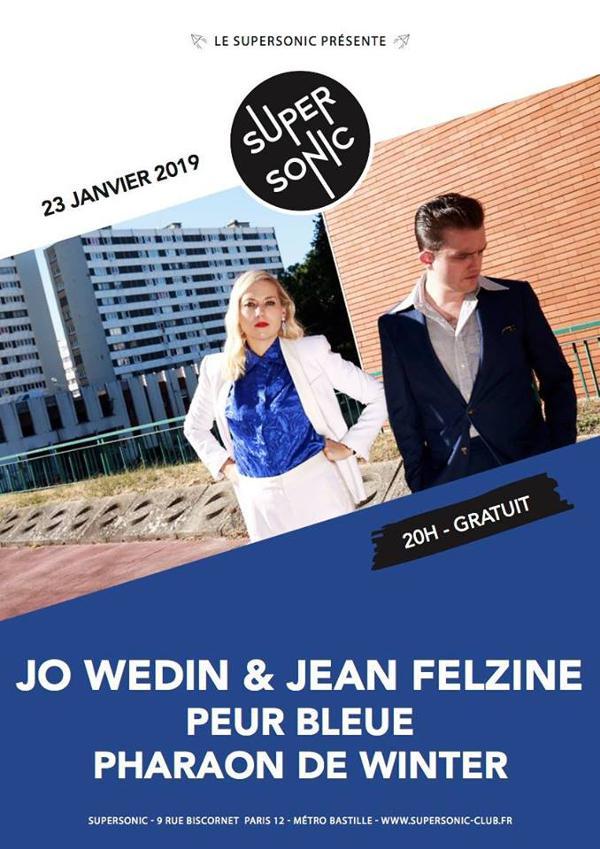 Jo Wedin & Jean Felzine • Peur Bleue • Pharaon de Winter