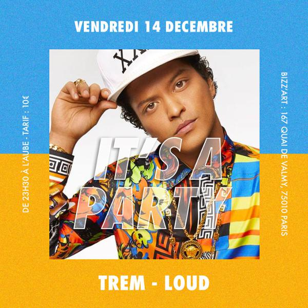 IT'S A PARTY. Hip Hop - RNB - Dancehall . Vendredi 14 décembre au BIZZ'ART.