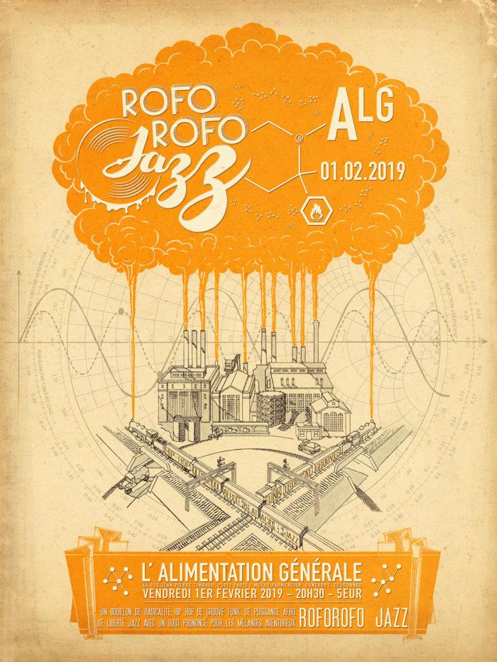 Roforofo Jazz en concert à L'Alimentation Générale