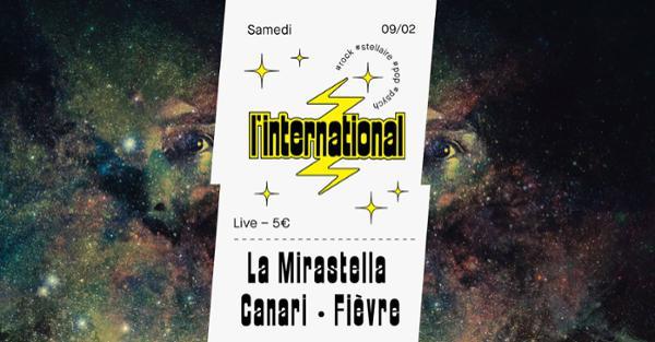 La Mirastella  Canari  Fièvre à l'International