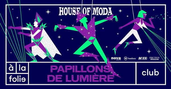 House of Moda - Papillons de lumière