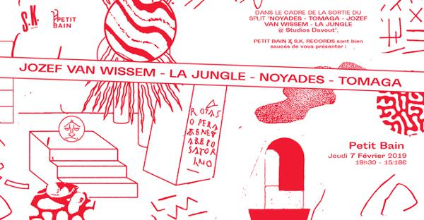 JOZEF VAN WISSEM + LA JUNGLE + NOYADES + TOMAGA