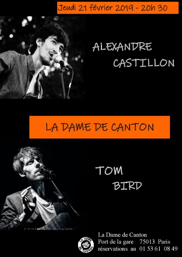 ALEXANDRE CASTILLON + TOM BIRD