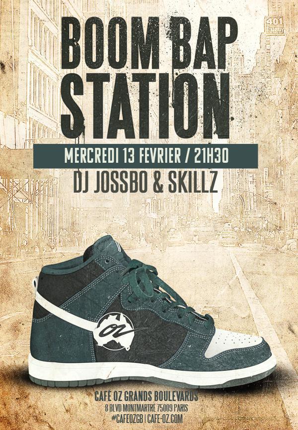 Boom Bap Station #Février