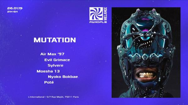 Panoplie x Mélange • Mutation