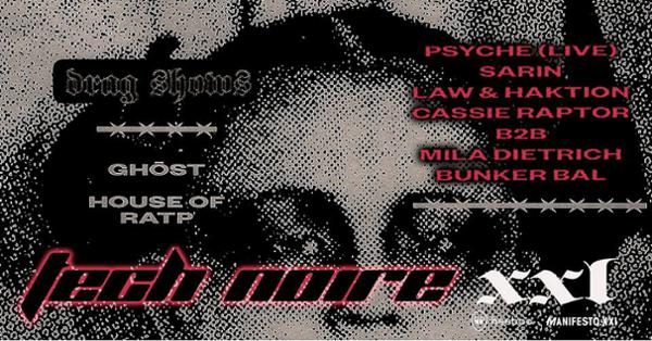 Tech Noire XXL ft. Psyche & SɅRIN