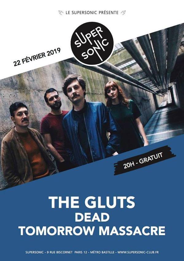 The Gluts (Fuzz Club) • Dead • Tomorrow Massacre / Supersonic