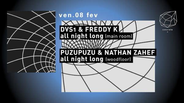 Concrete: DVS1 & Freddy K All Night Long