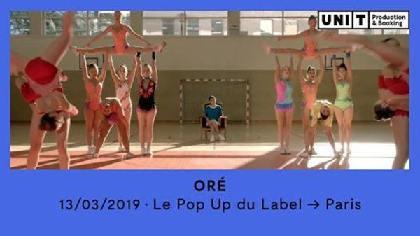 ORÉ en concert au Pop Up! - 13/03/2019