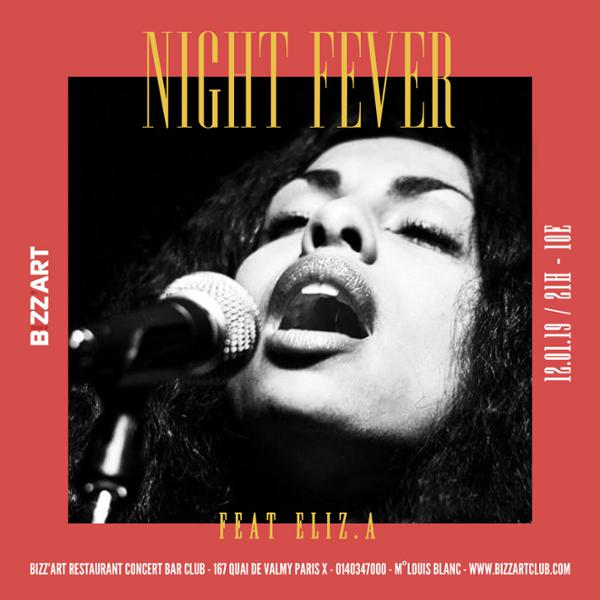 NIGHT FEVER Feat. ELIZ.A