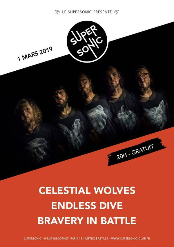 Celestial Wolves • Endless Dive • Bravery in Battle / Free