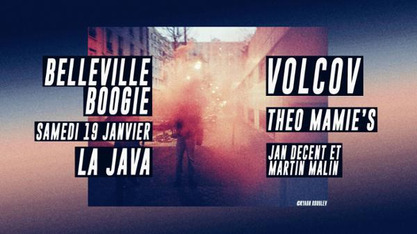 Belleville Boogie: Volcov Theo Mamie's Jan Decent & Martin Malin