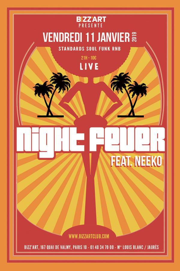 NIGHT FEVER Feat. NEEKO