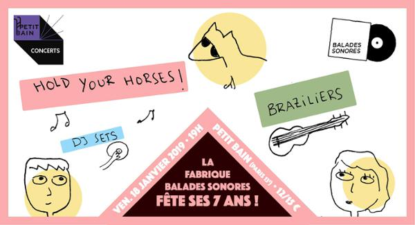 HOLD YOUR HORSES + BRAZILIERS