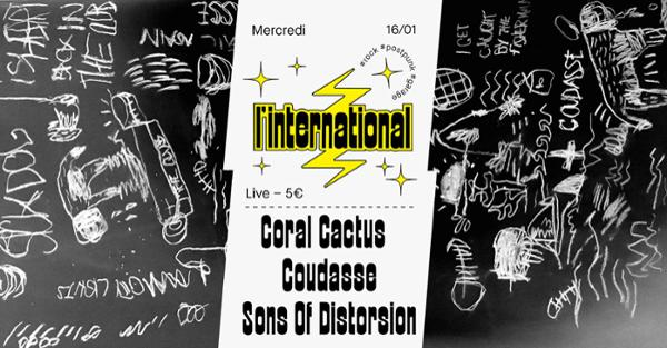 Coral Cactus  Coudasse  Sons Of Distortion à l'Inter